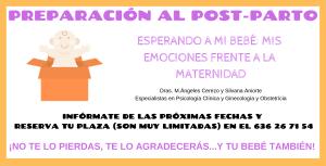 PREPARACIÓN AL POST-PARTO BANNER WEB