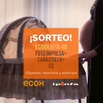 Ecografía 4D CD+Foto impresa+Canastilla